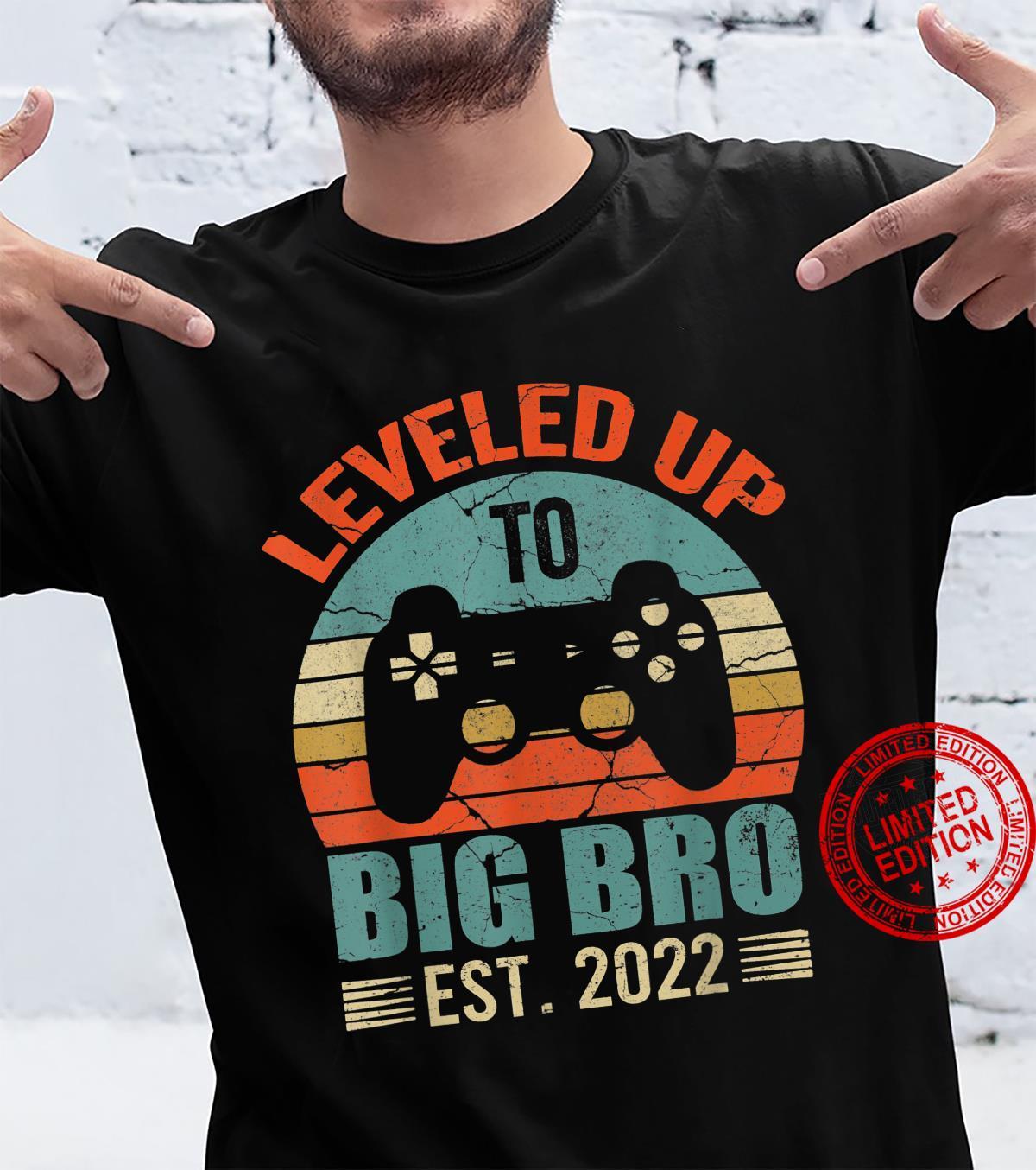 Big Brother EST 2022 Shirt, Leveled Up To Big Brother 2022 Shirt