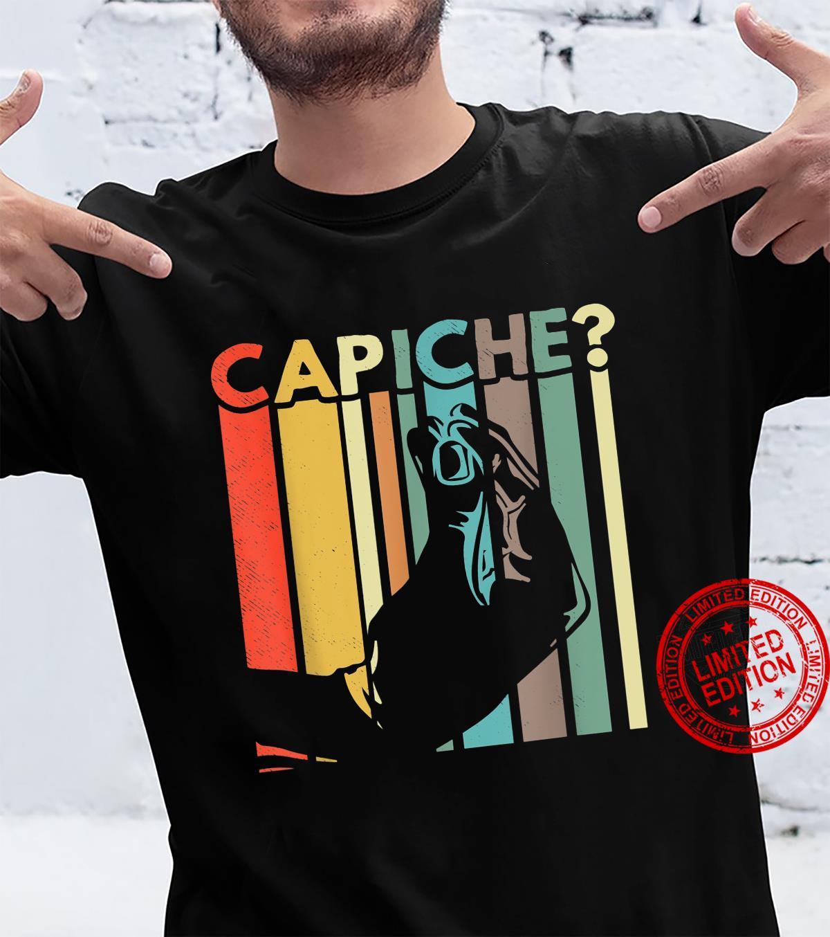 Capiche Italian Pride Italy Flag Shirt