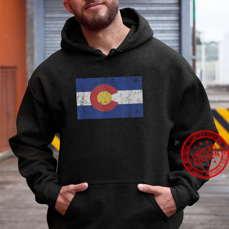 Colorado State Flag Denver Rocky Mountain Coloradan Shirt hoodie