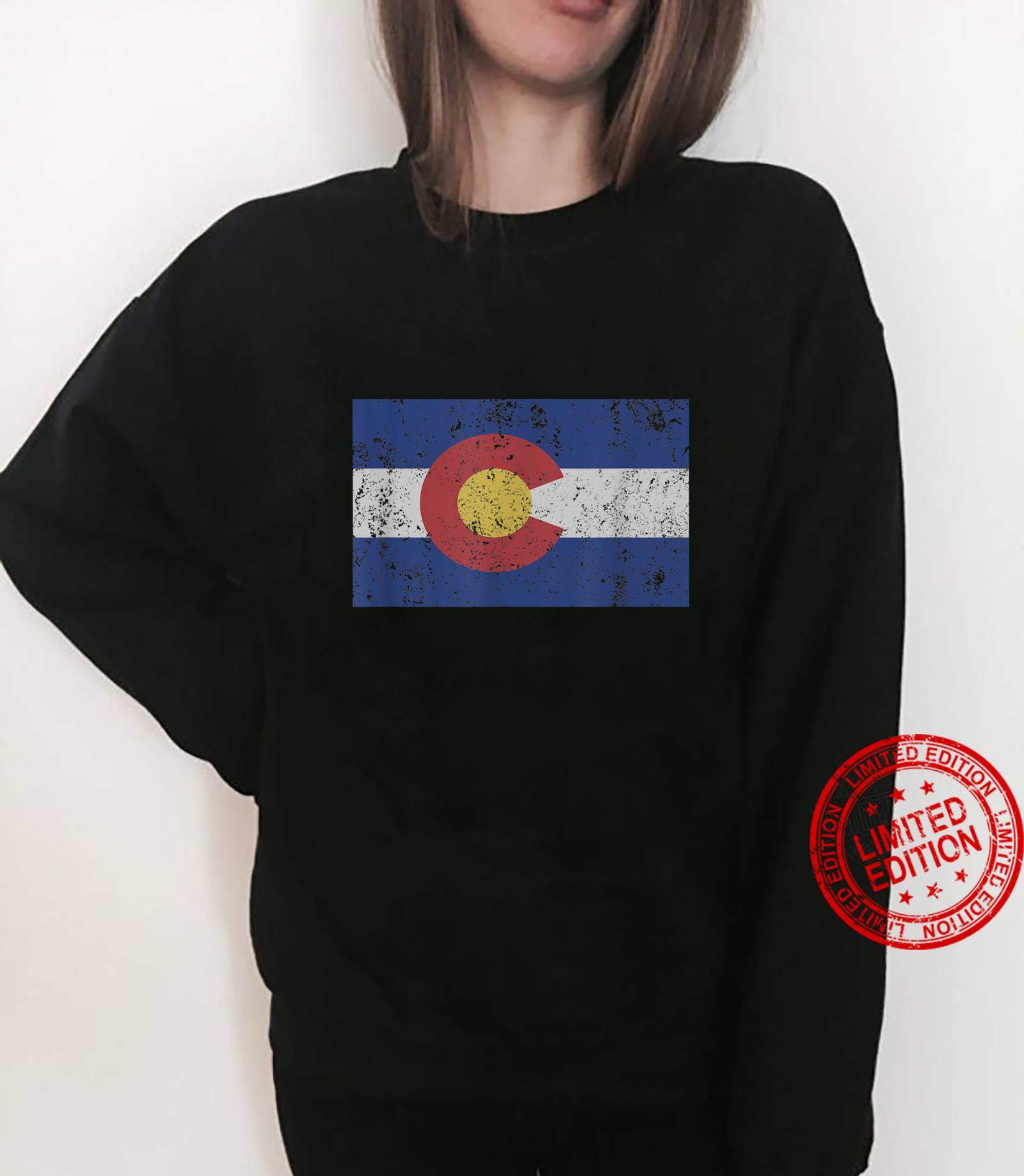 Colorado State Flag Denver Rocky Mountain Coloradan Shirt sweater