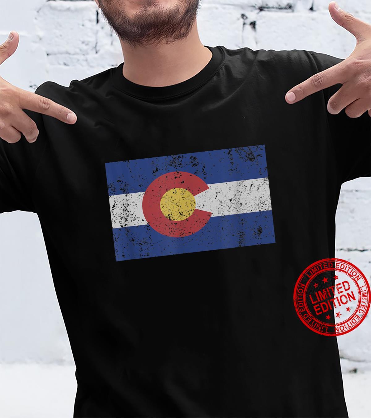 Colorado State Flag Denver Rocky Mountain Coloradan Shirt