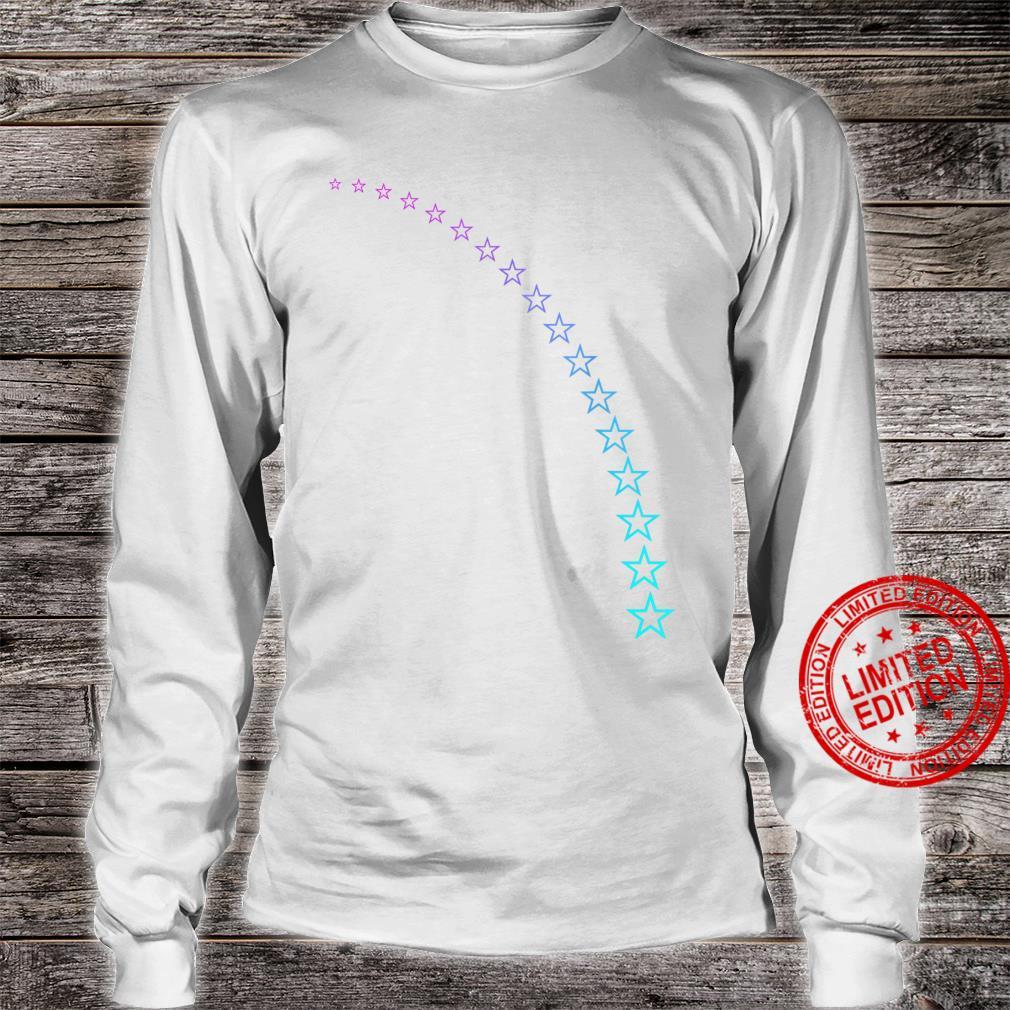 Falling Stars Shirt long sleeved