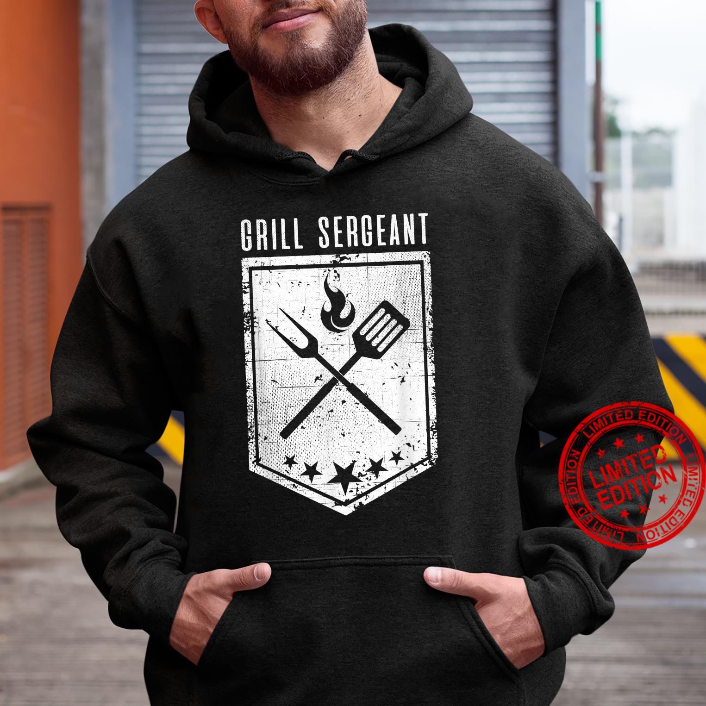 Grill Sergeant Grilling Smoking Meat Brisket Dad BBQ Shirt hoodie