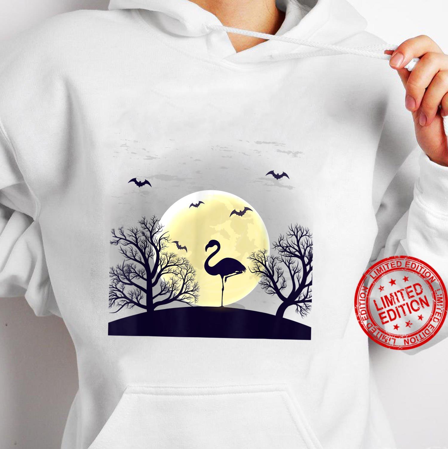 Halloween flamingos yard costume Shirt hoodie