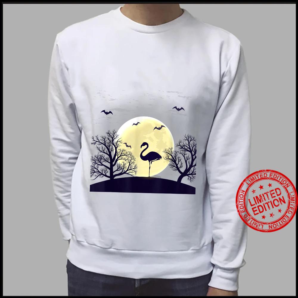 Halloween flamingos yard costume Shirt sweater