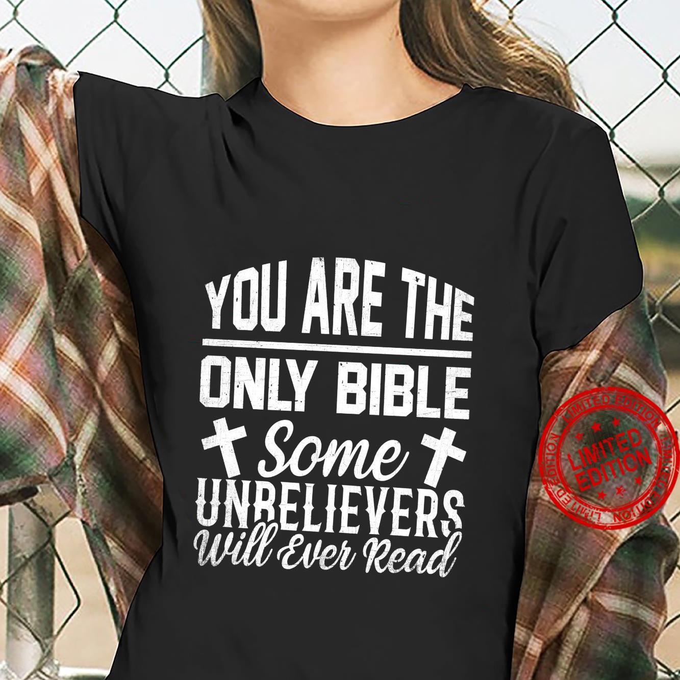 Holy Bible Verse Bibalic Christianity Religion Christian Shirt ladies tee