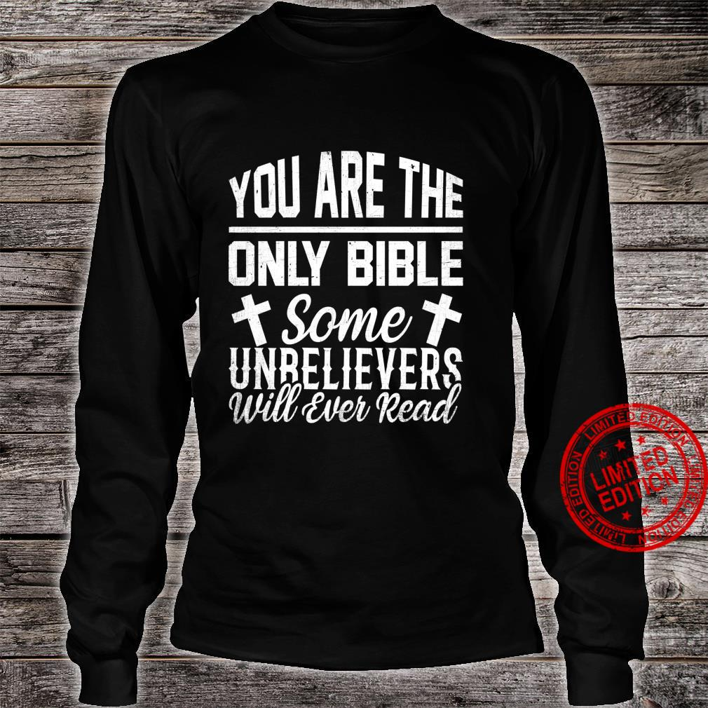 Holy Bible Verse Bibalic Christianity Religion Christian Shirt long sleeved