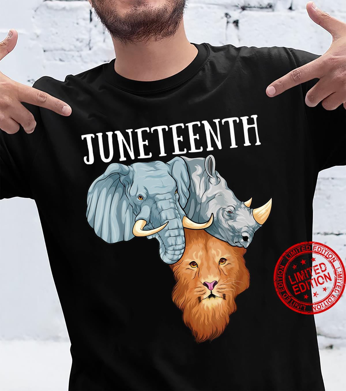Juneteenth African Map Africa Pride Black Freedom June 19th Shirt