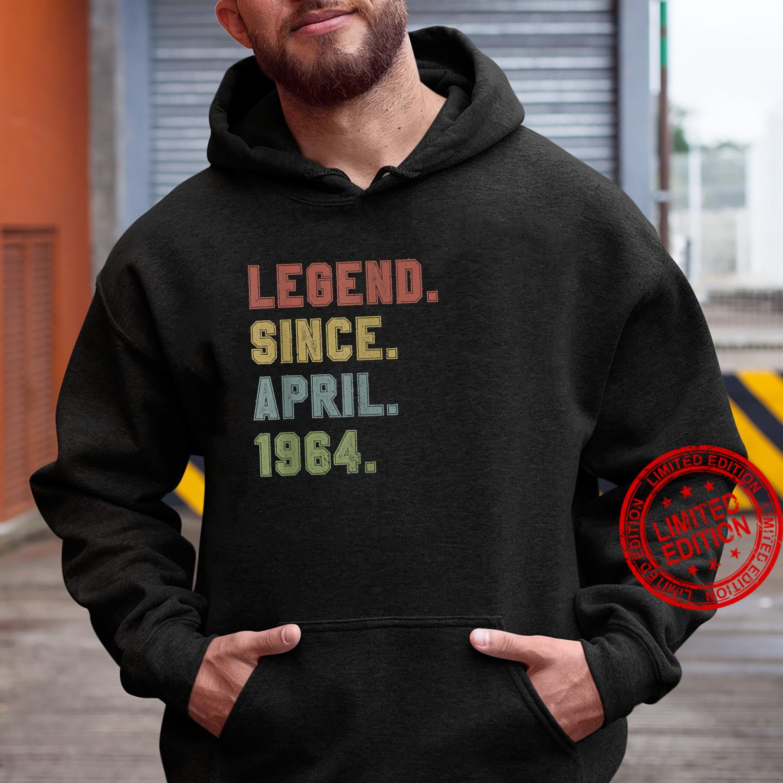 Legend Since April 1964 57th Birthday 57 Years Old Shirt hoodie