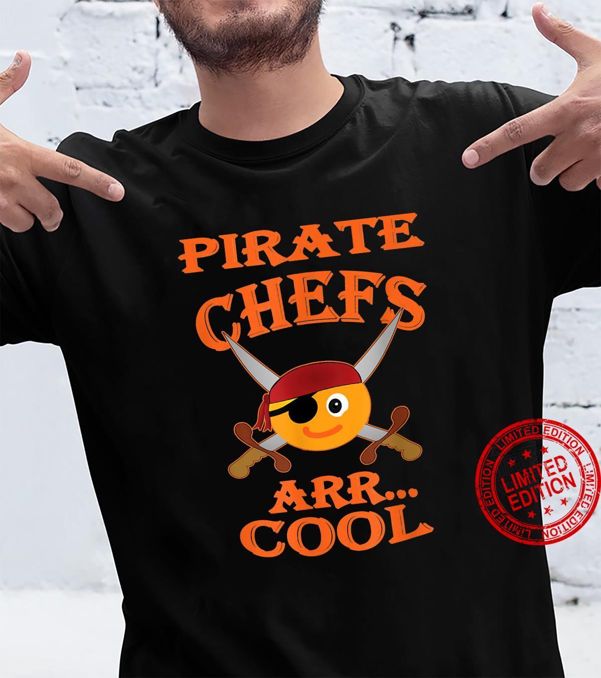 Pirate Chefs ARR Cool Halloween Orange Shirt