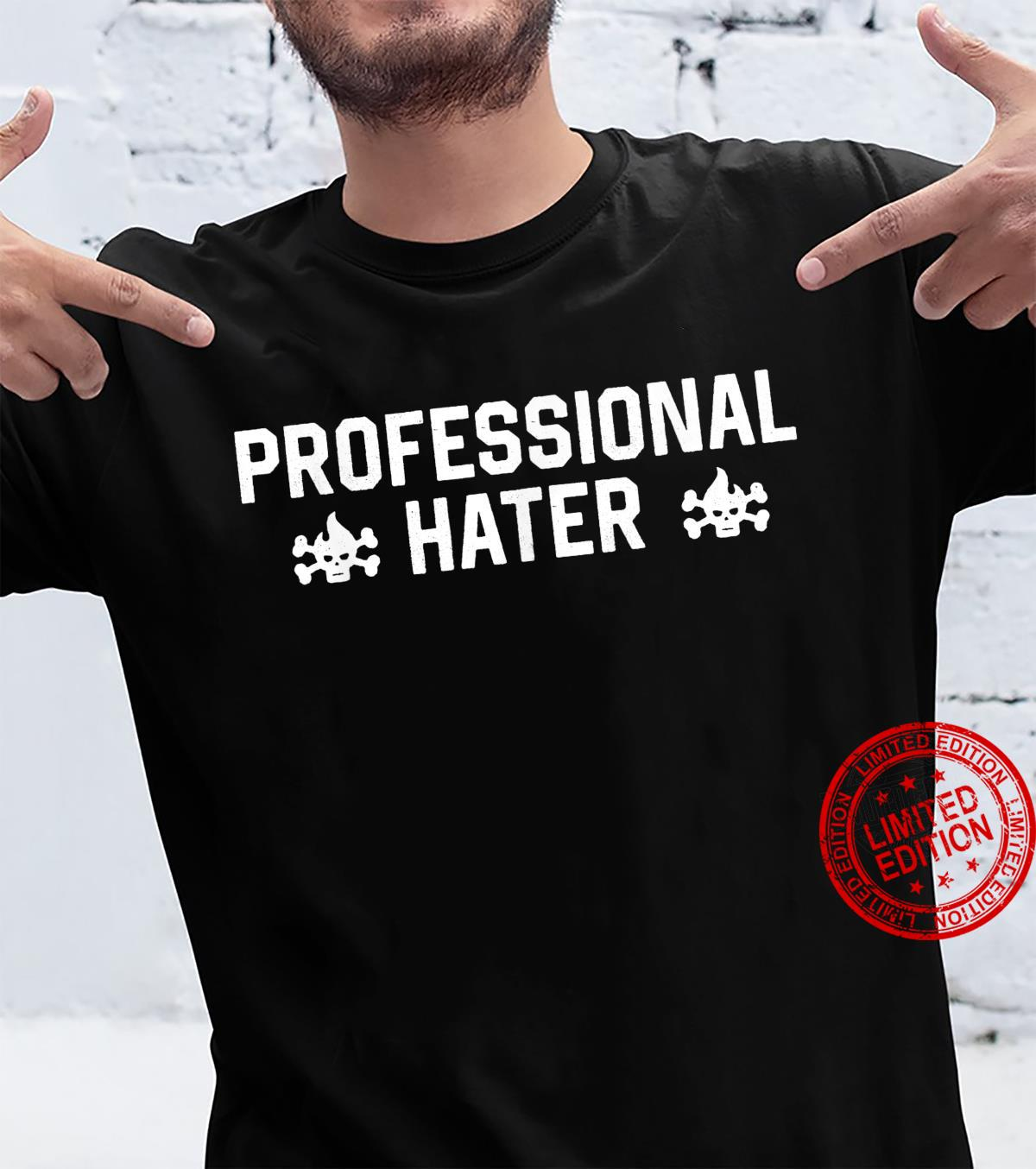 Professional Hater Anti Social Introvert Shirt