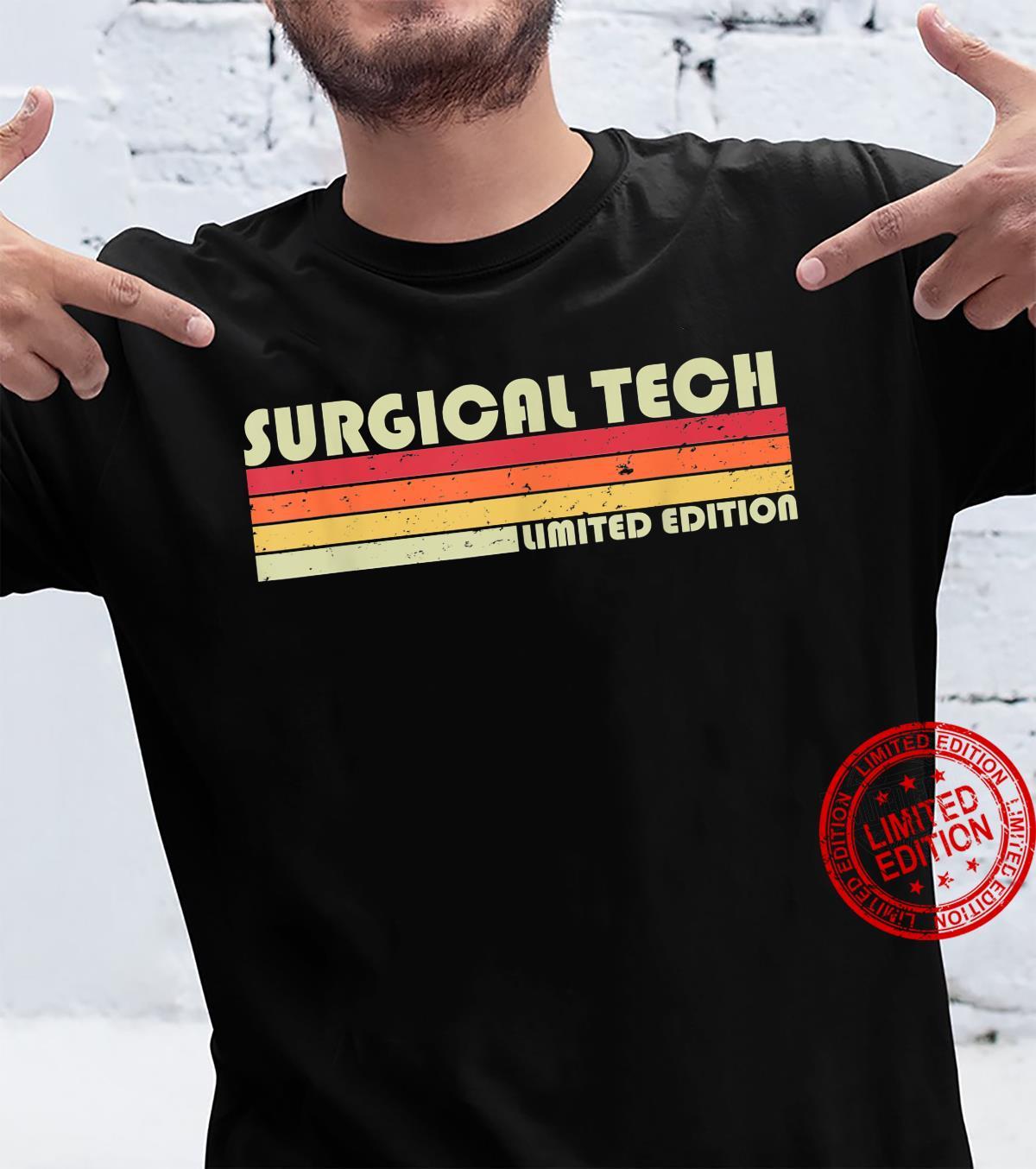 SURGICAL TECH Job Title Profession Birthday Worker Shirt