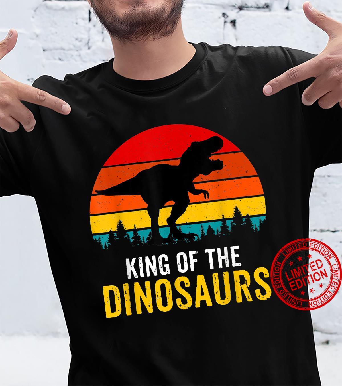 Trex Dinosaur King Rawr Animal Zoo Shirt