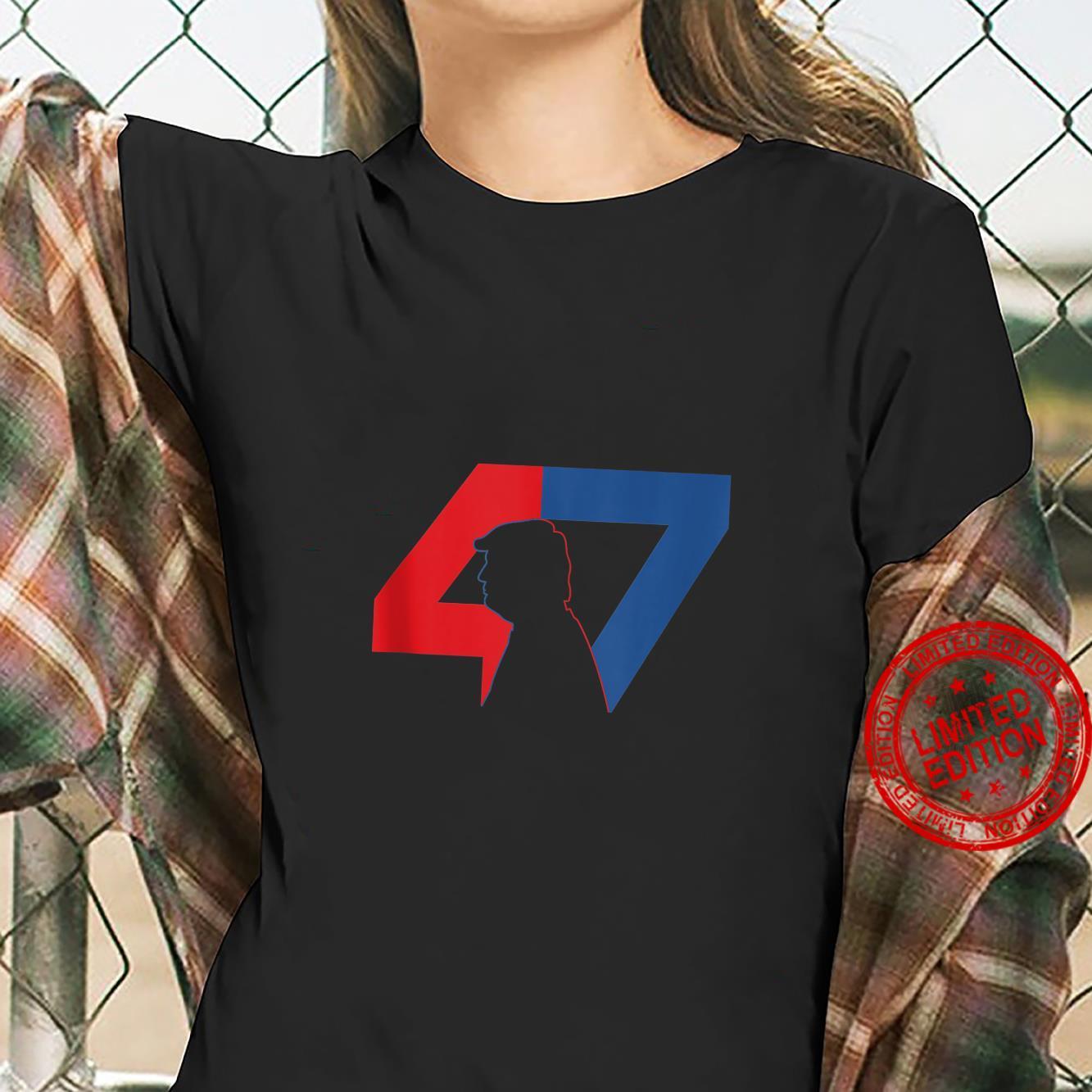 Trump 2024 47 Trump Shirt ladies tee