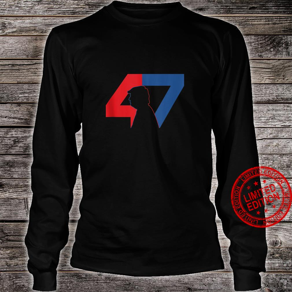 Trump 2024 47 Trump Shirt long sleeved