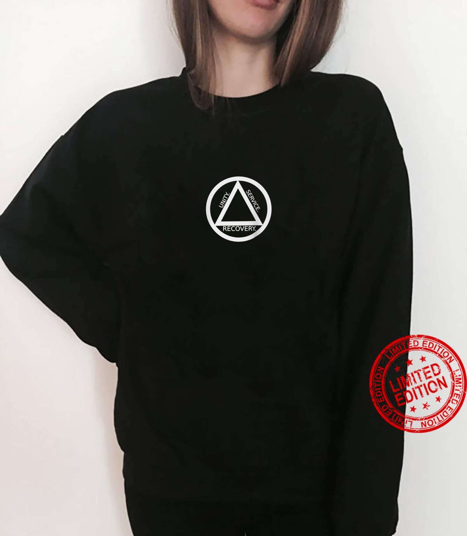 Unity Recovery Service Sober House AA NA 12Step Shirt sweater
