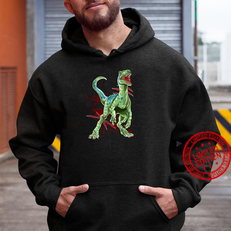 Velociraptor Raptor Saurier Urzeit Dinosaurier Dino Shirt hoodie