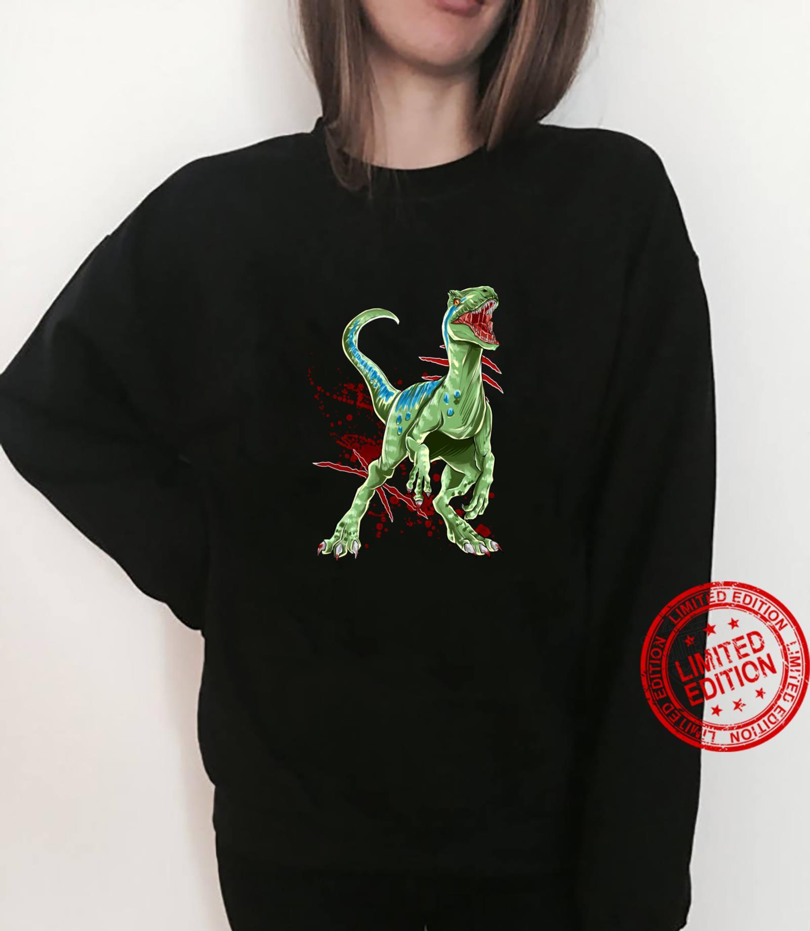 Velociraptor Raptor Saurier Urzeit Dinosaurier Dino Shirt sweater