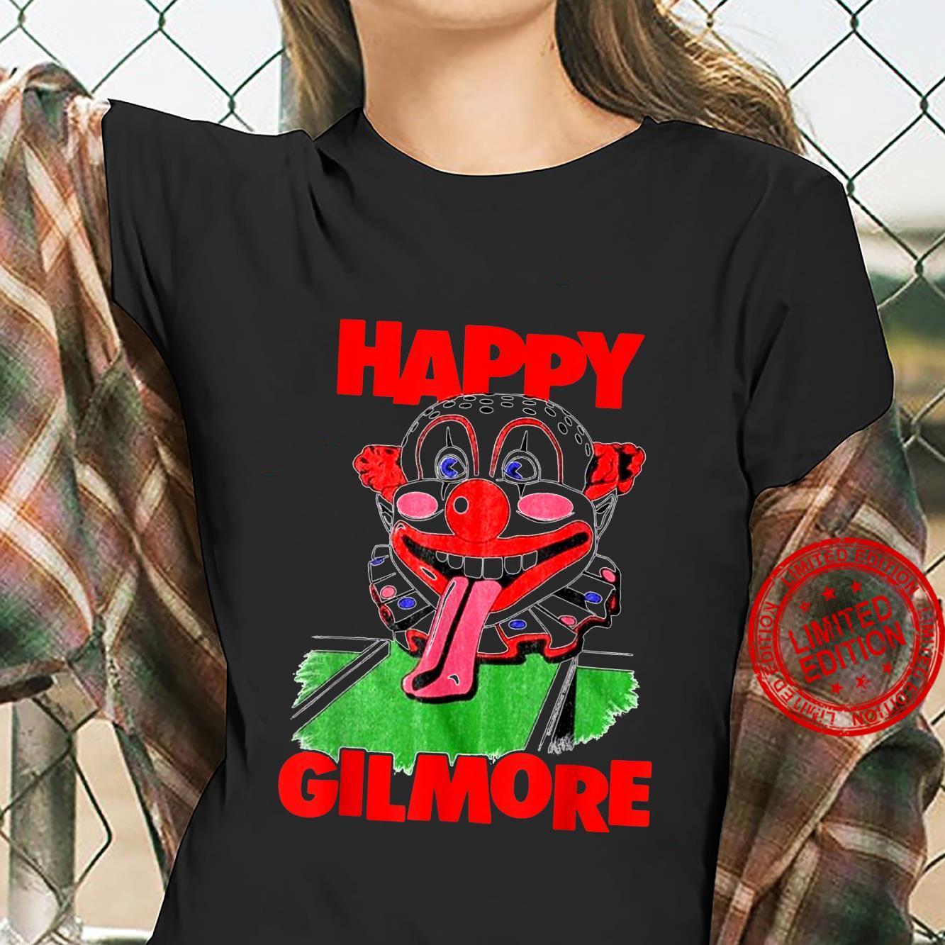 Vintage Happy Design Arts Gilmores Vaporwave Cast Halloween Shirt ladies tee