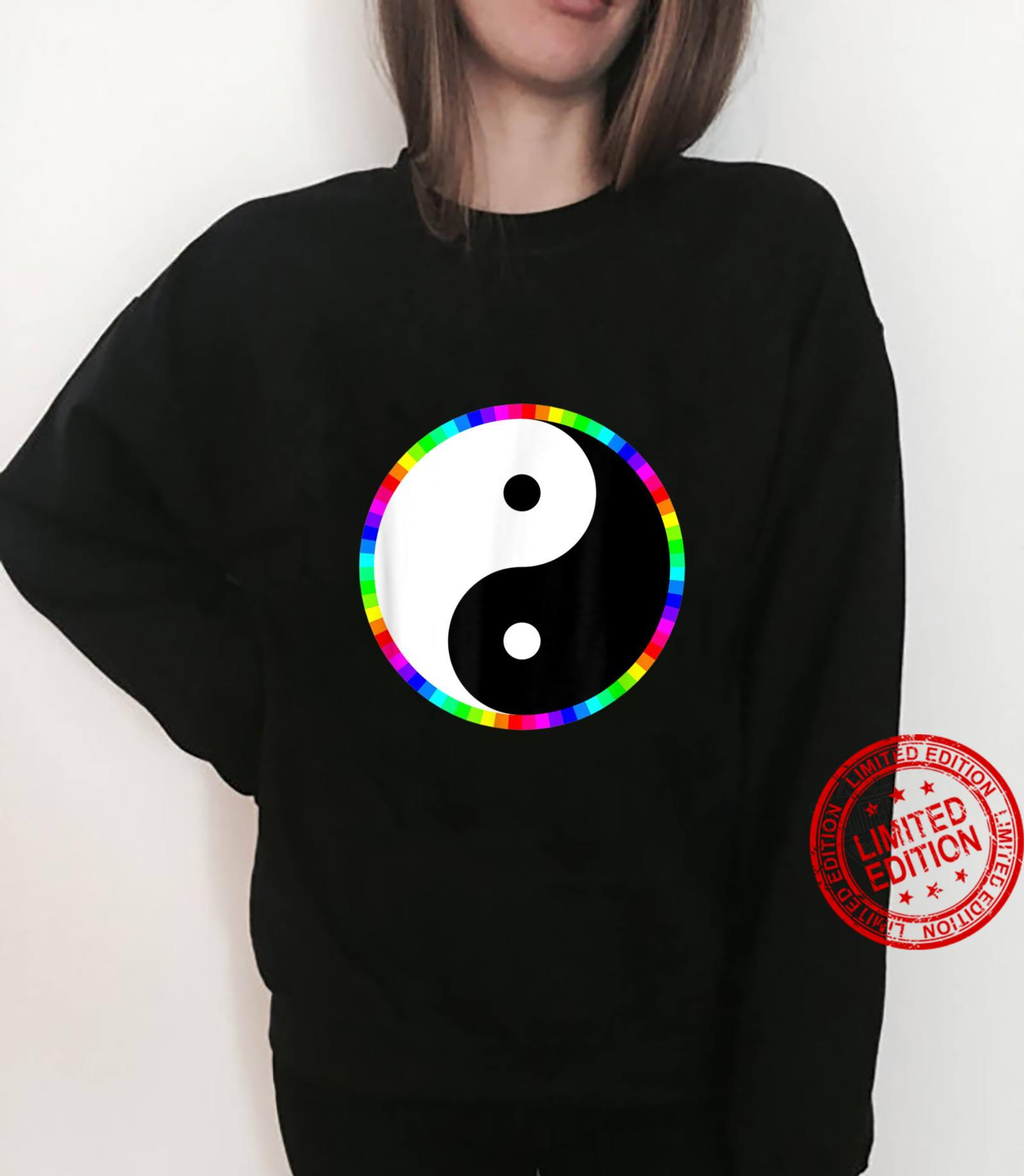 We are all made with COLOR Shirt sweater