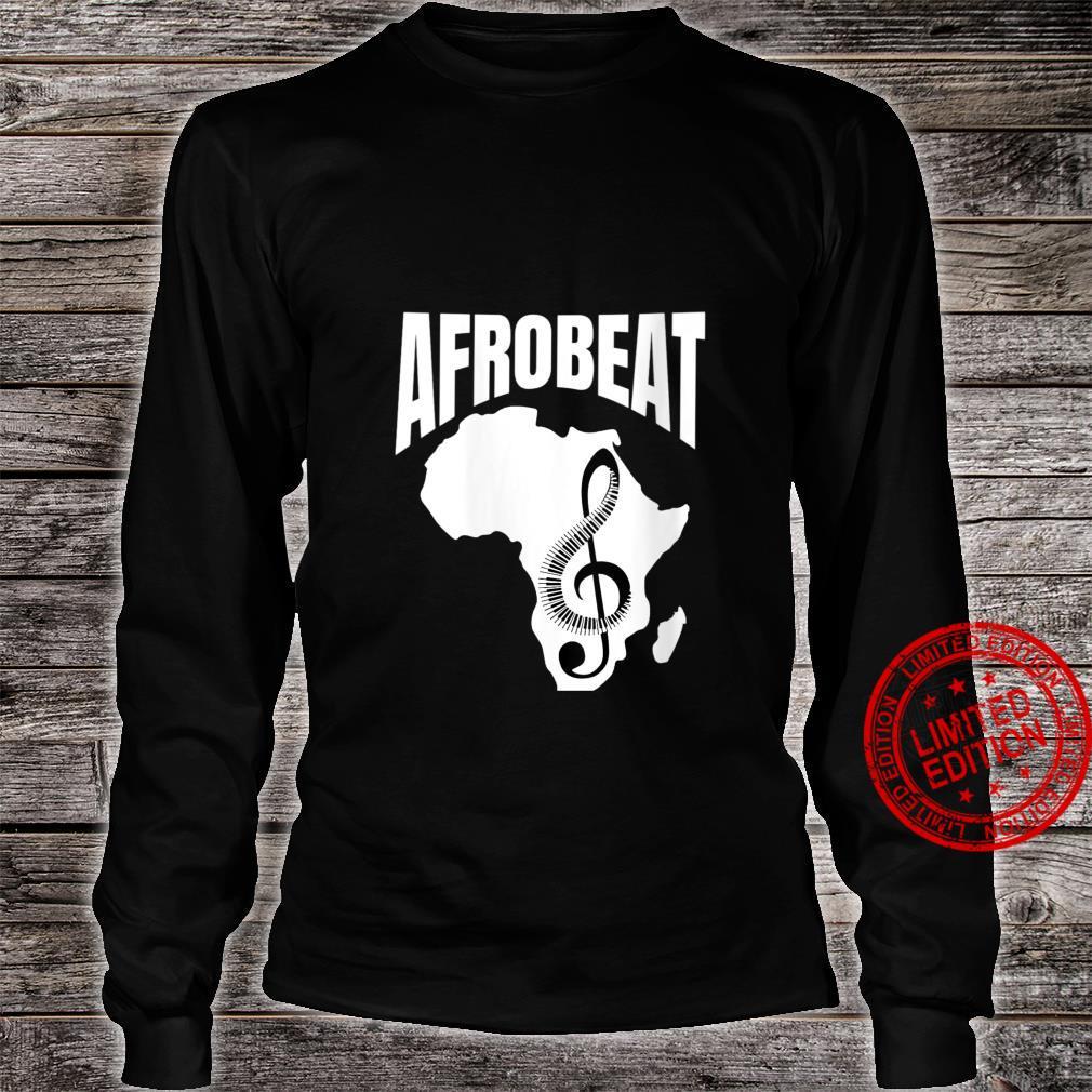 Womens Afrobeat Musics Nigeria Naija Africa Shirt long sleeved