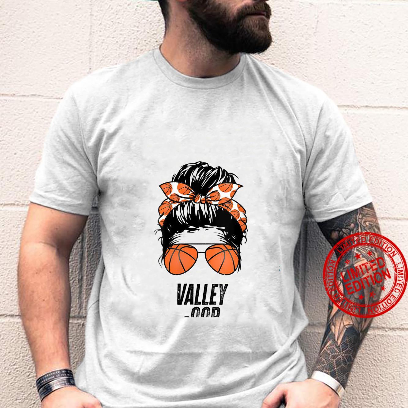 Womens Phoenix Basketball Valley Oop messy bun sun basketball fan Shirt