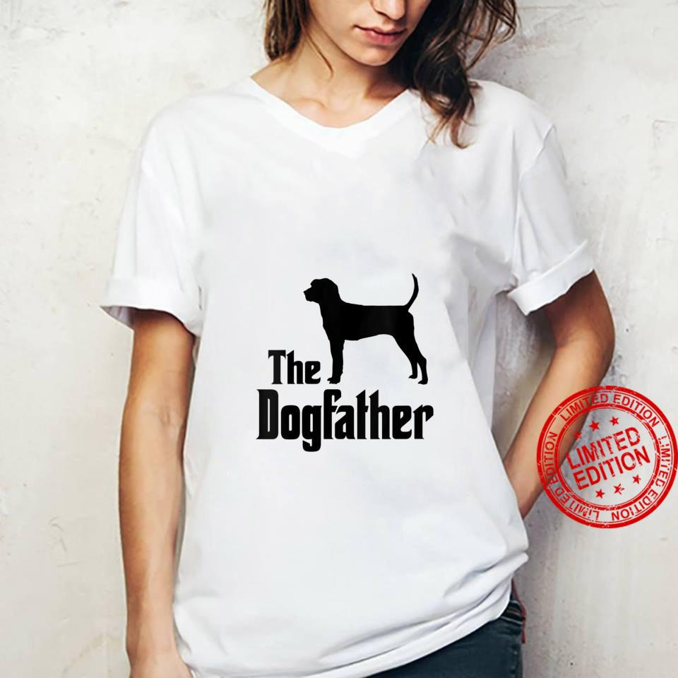 Womens The Dogfather dog, Treeing Walker Coonhound Shirt ladies tee