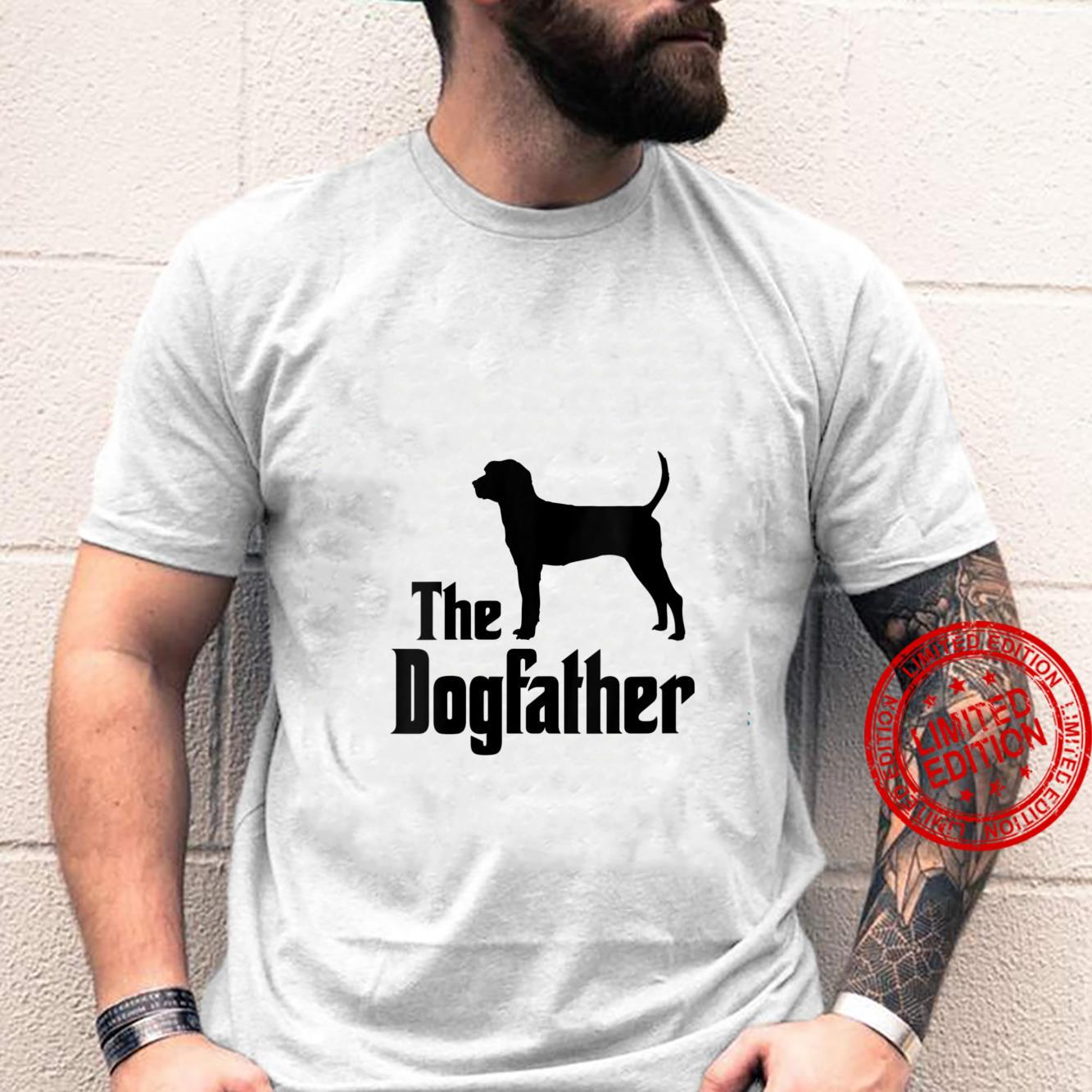 Womens The Dogfather dog, Treeing Walker Coonhound Shirt
