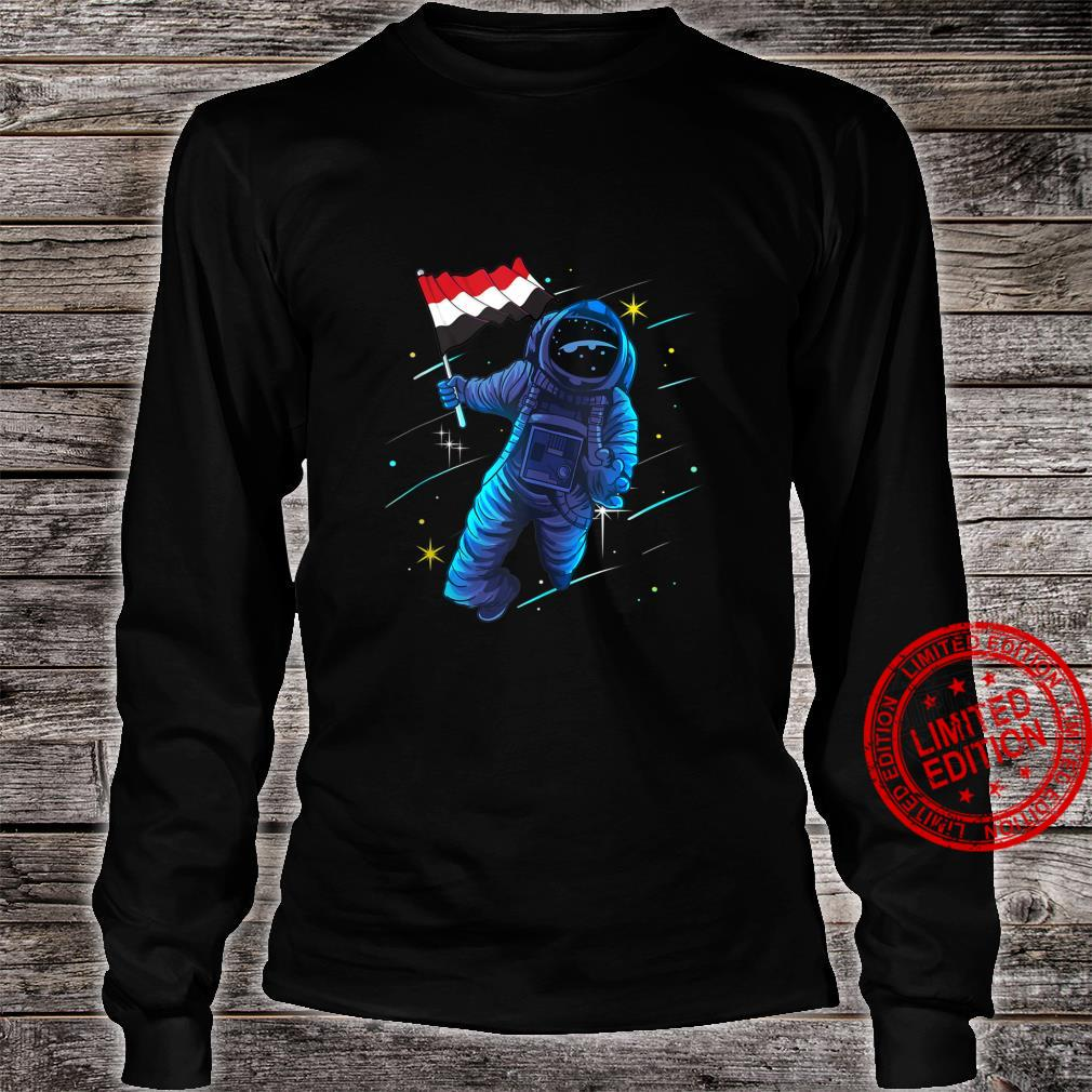 Yemen Heritage Yemenese Astronaut Moon Shirt long sleeved