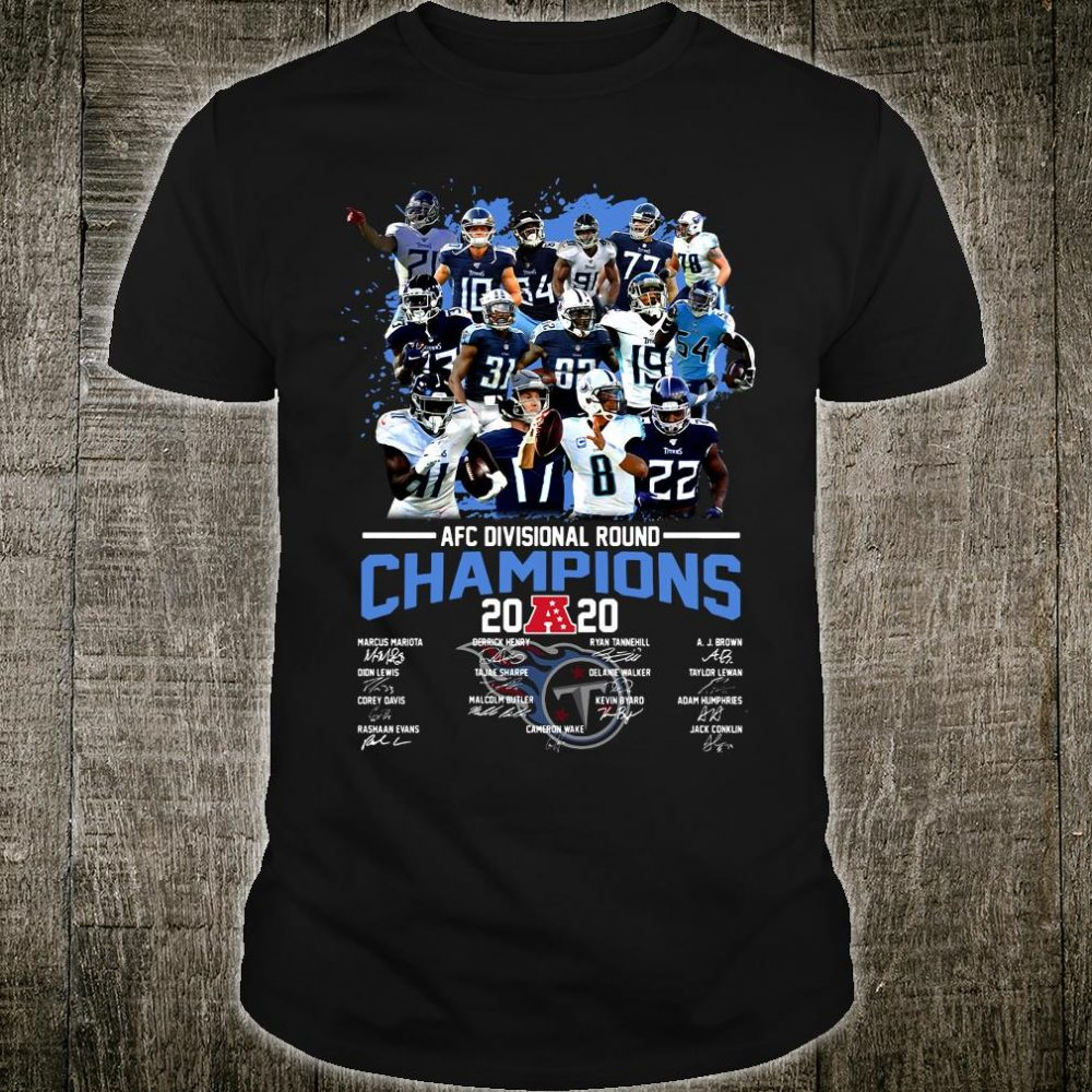 AFC Divisional Round Champions 2020 shirt