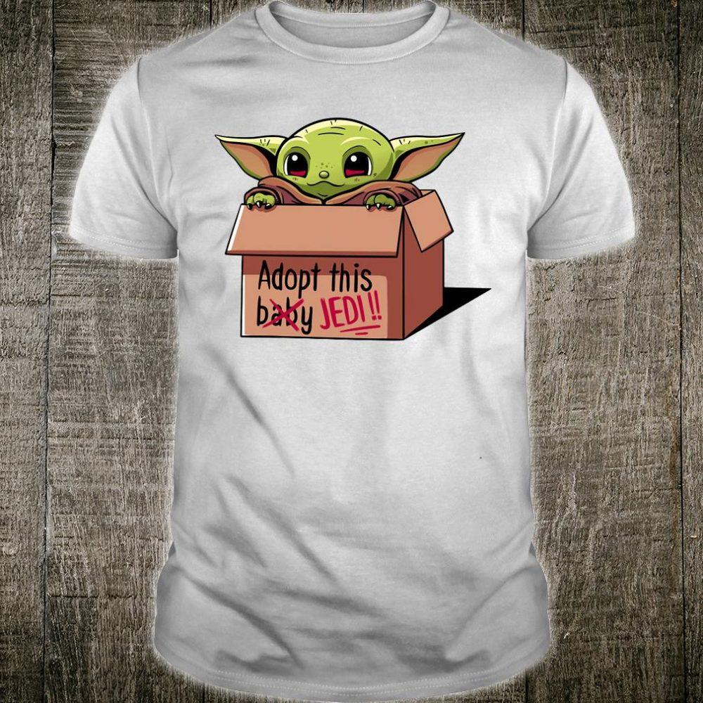 Adopt this baby Jedi shirt