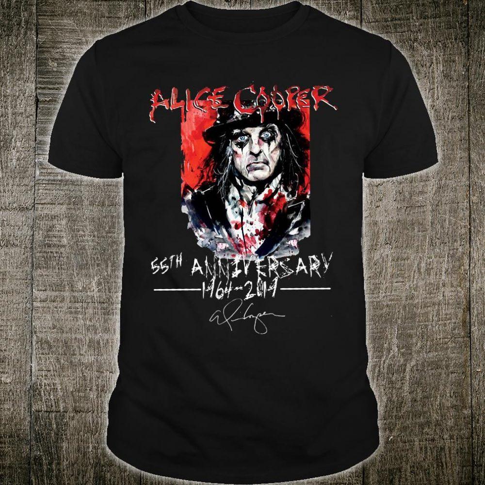 Alice Cooper 55th anniversary 1964 2019 shirt