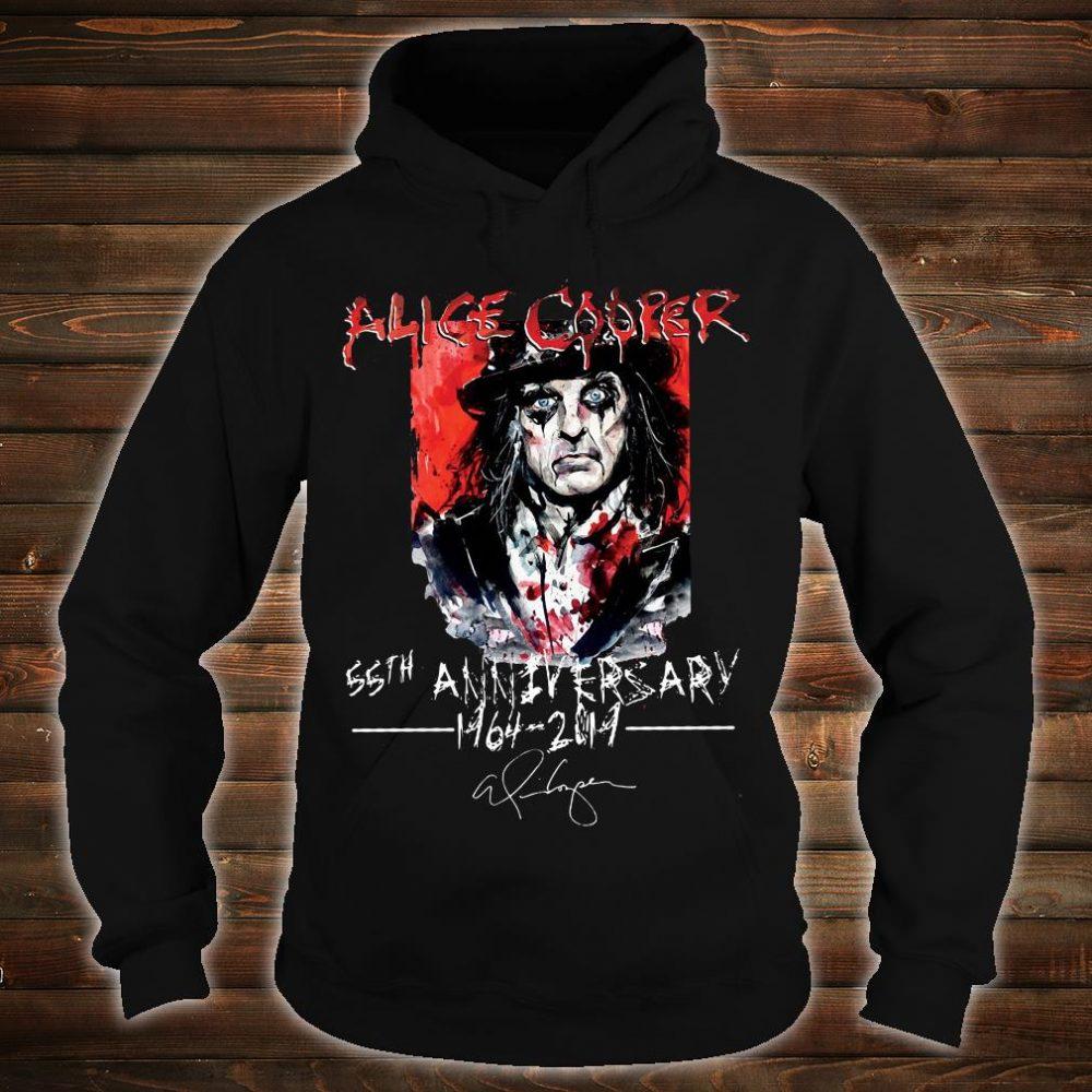 Alice Cooper 55th anniversary 1964 2019 shirt hoodie