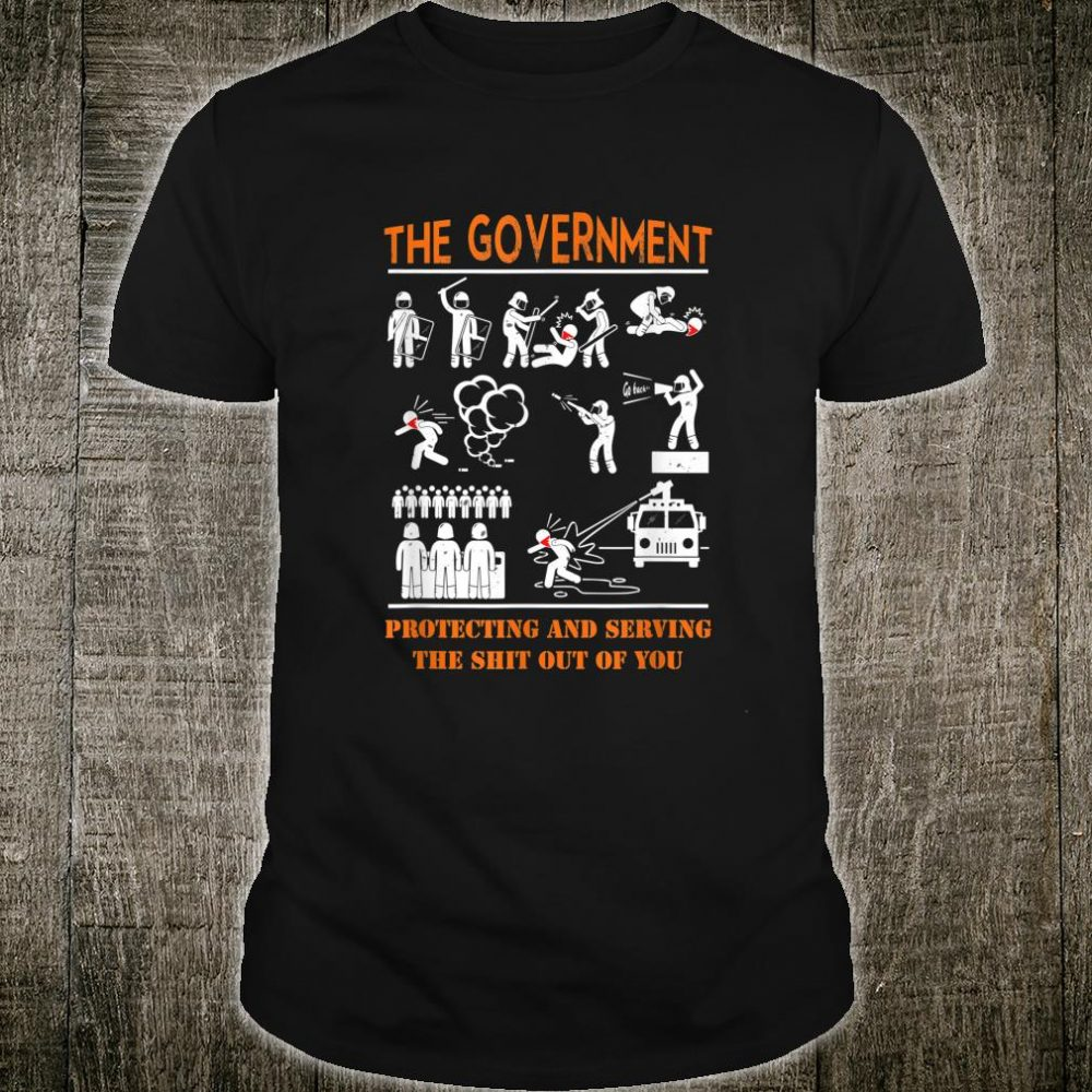 Anti Government Protest Movement Police Brutality Shirt