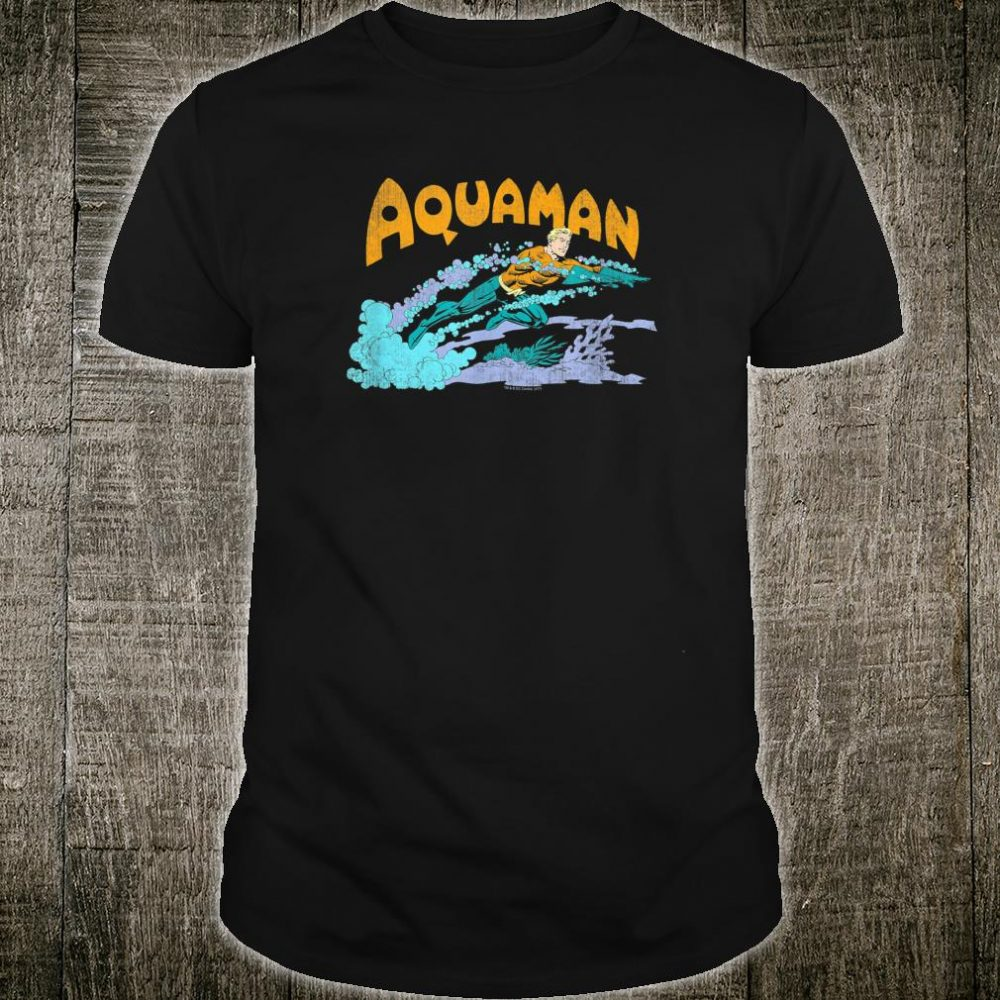 Aquaman Aqua Swim Shirt