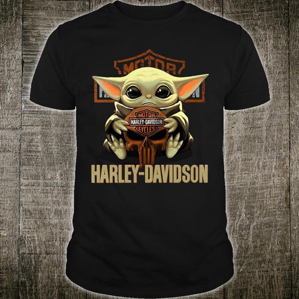 Baby Yoda Harley-Davidson shirt