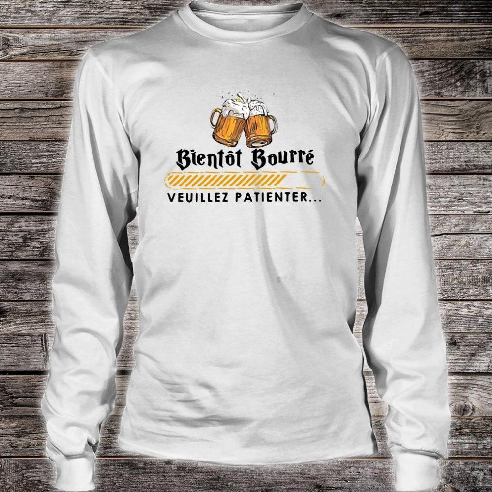 Bientot Bourre veuillez patienter shirt long sleeved