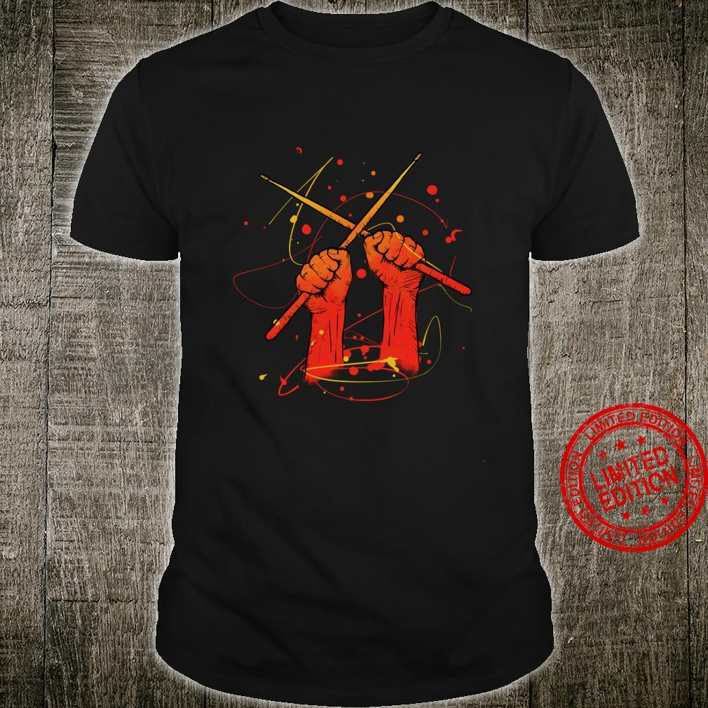 Drumming Drum Sticks Band Shirt