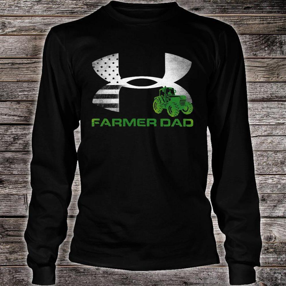 Farmer Dad logos shirt long sleeved
