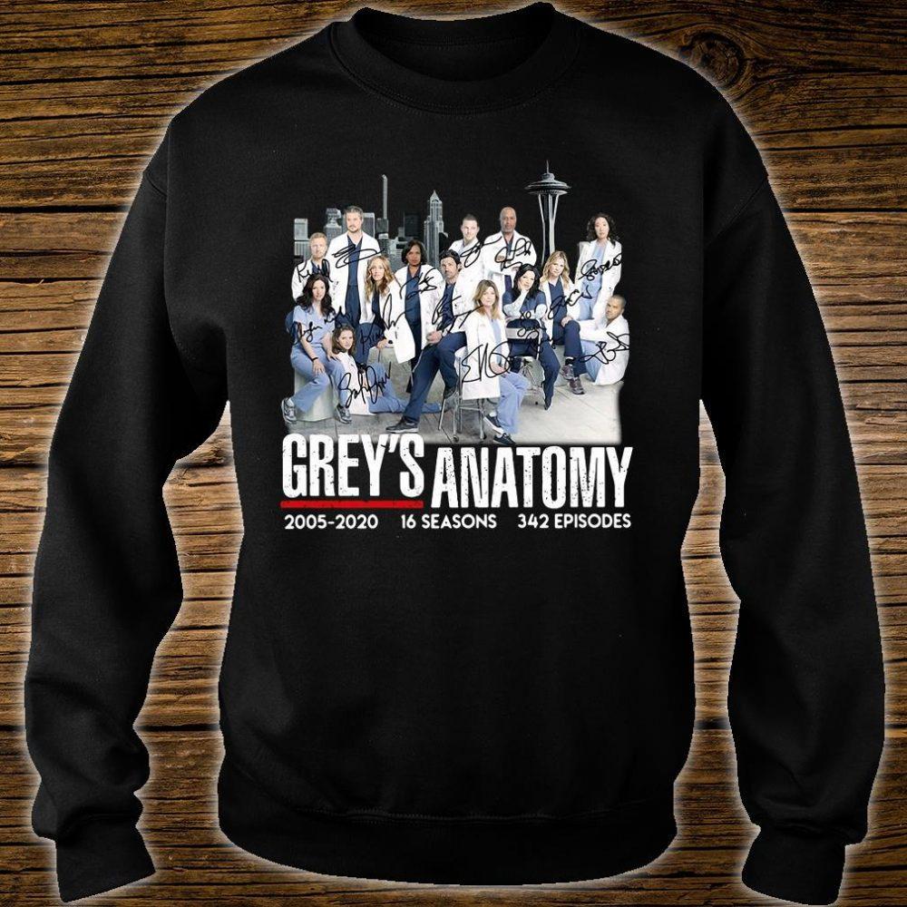 Grey's Anatomy 2005 2020 16 seasons 342 episodes shirt sweater