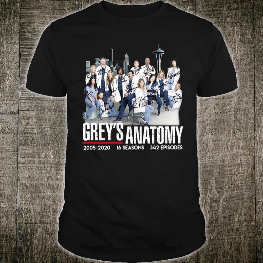 Grey's Anatomy 2005-2020 shirt