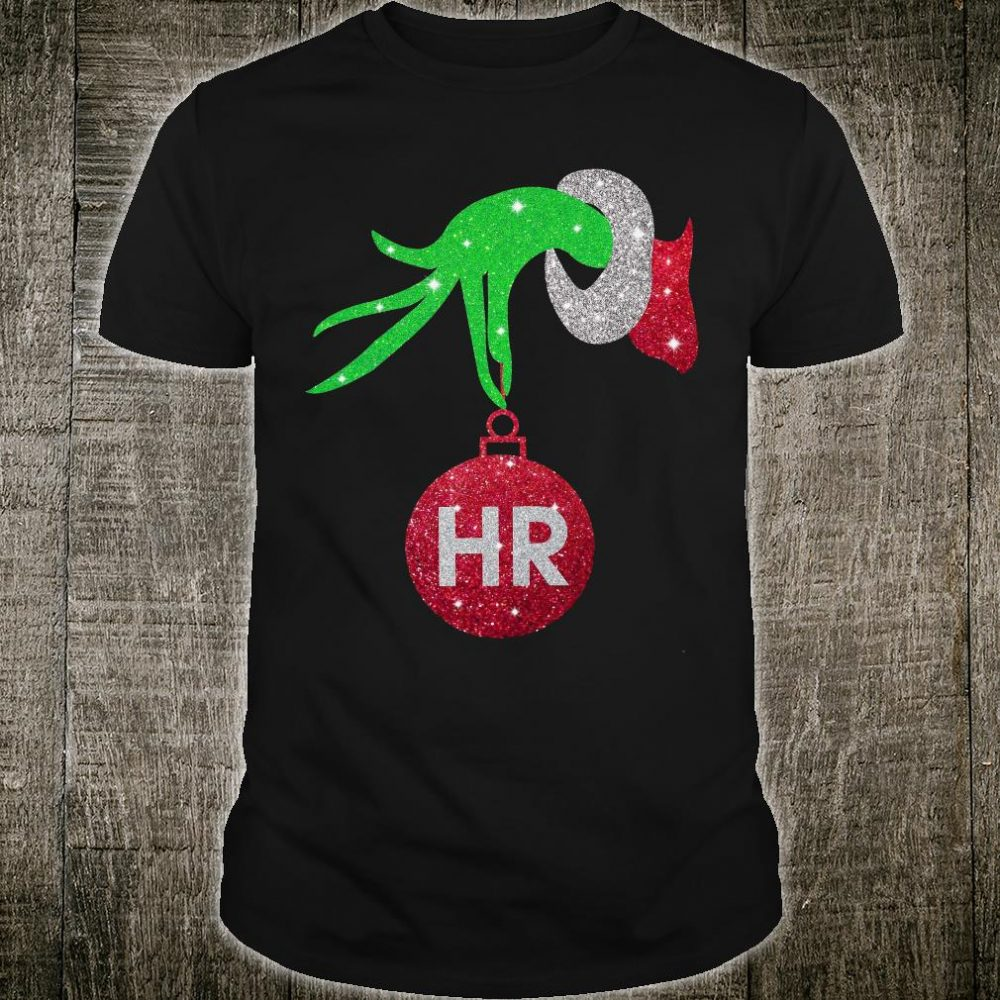 Grinch's hand Hr diamonds shirt