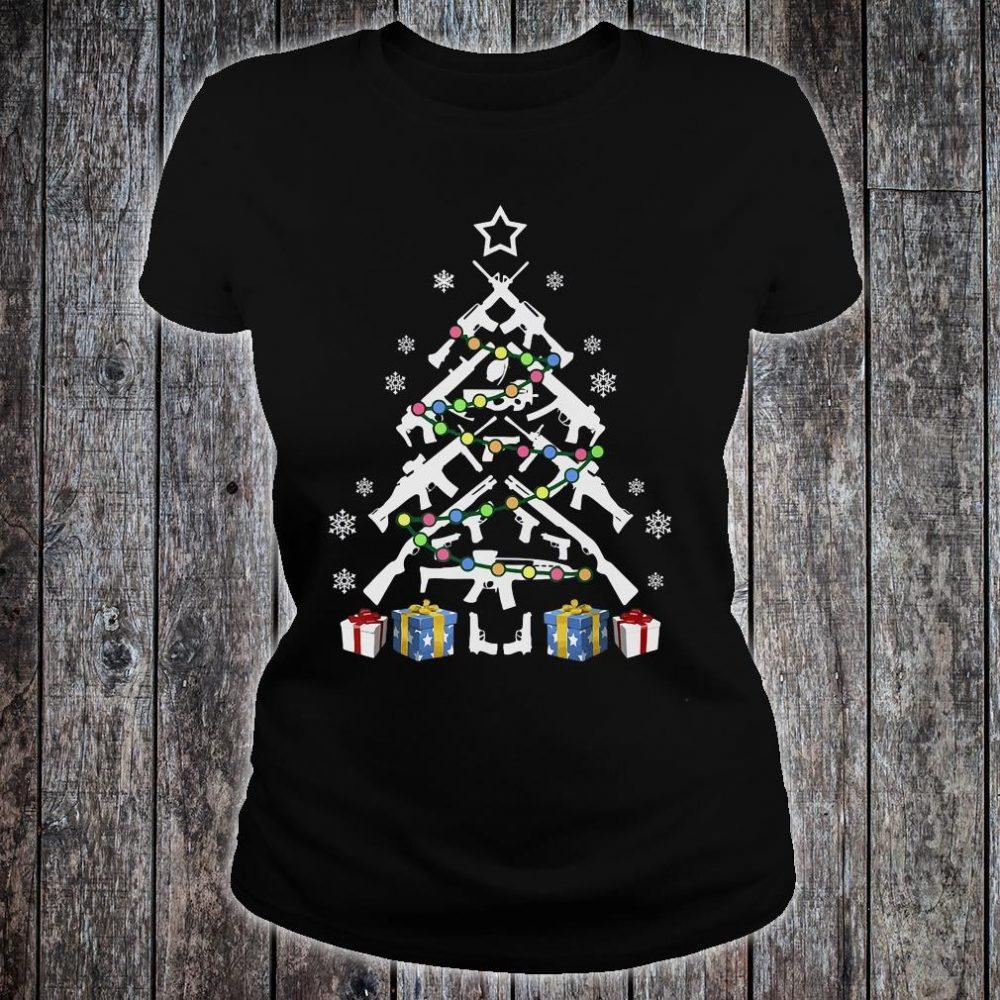 Gund Christmas tree shirt ladies tee