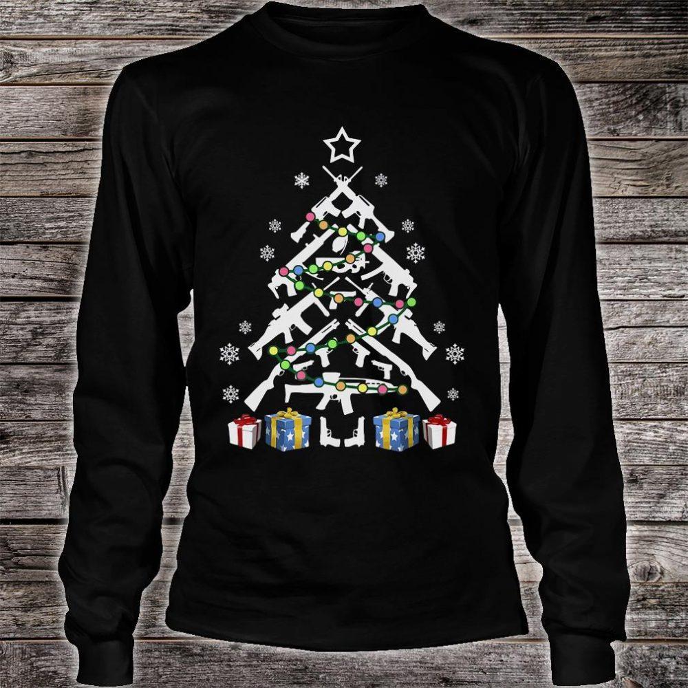 Gund Christmas tree shirt long sleeved