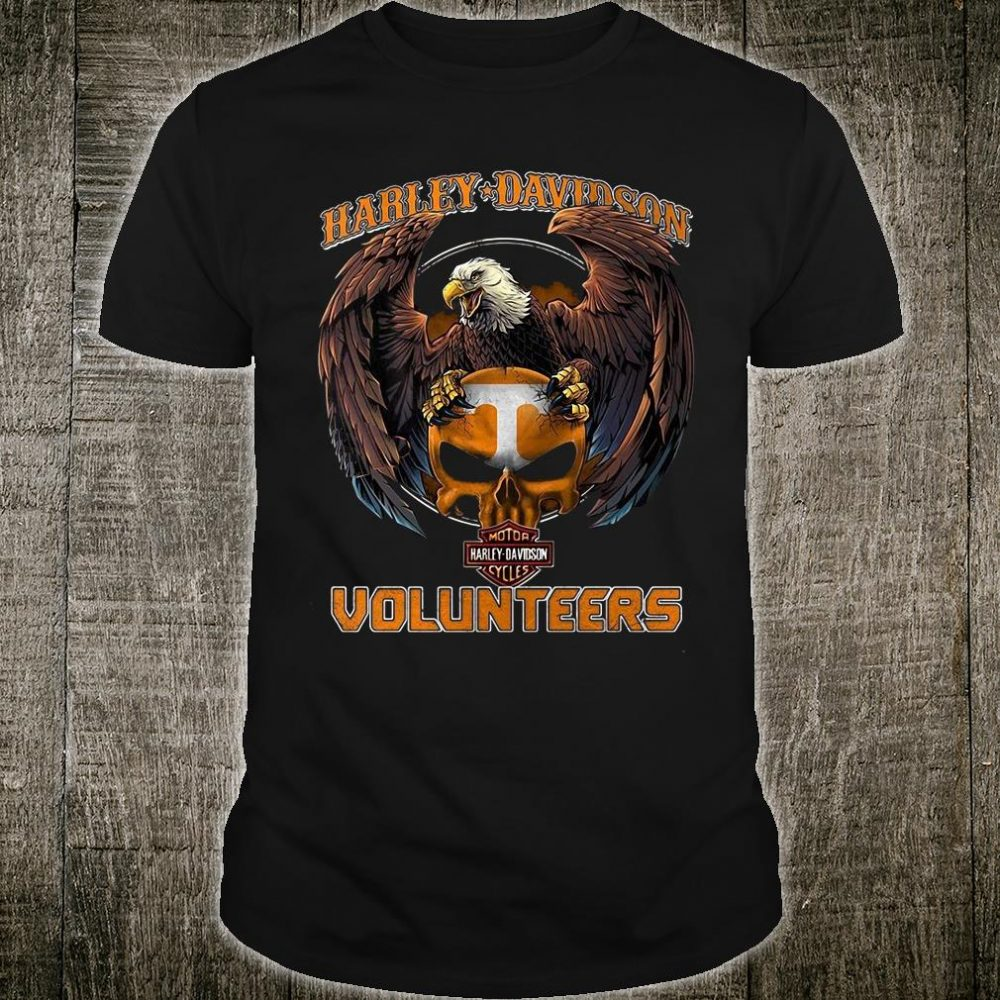Harley Davidson Volunteers shirt