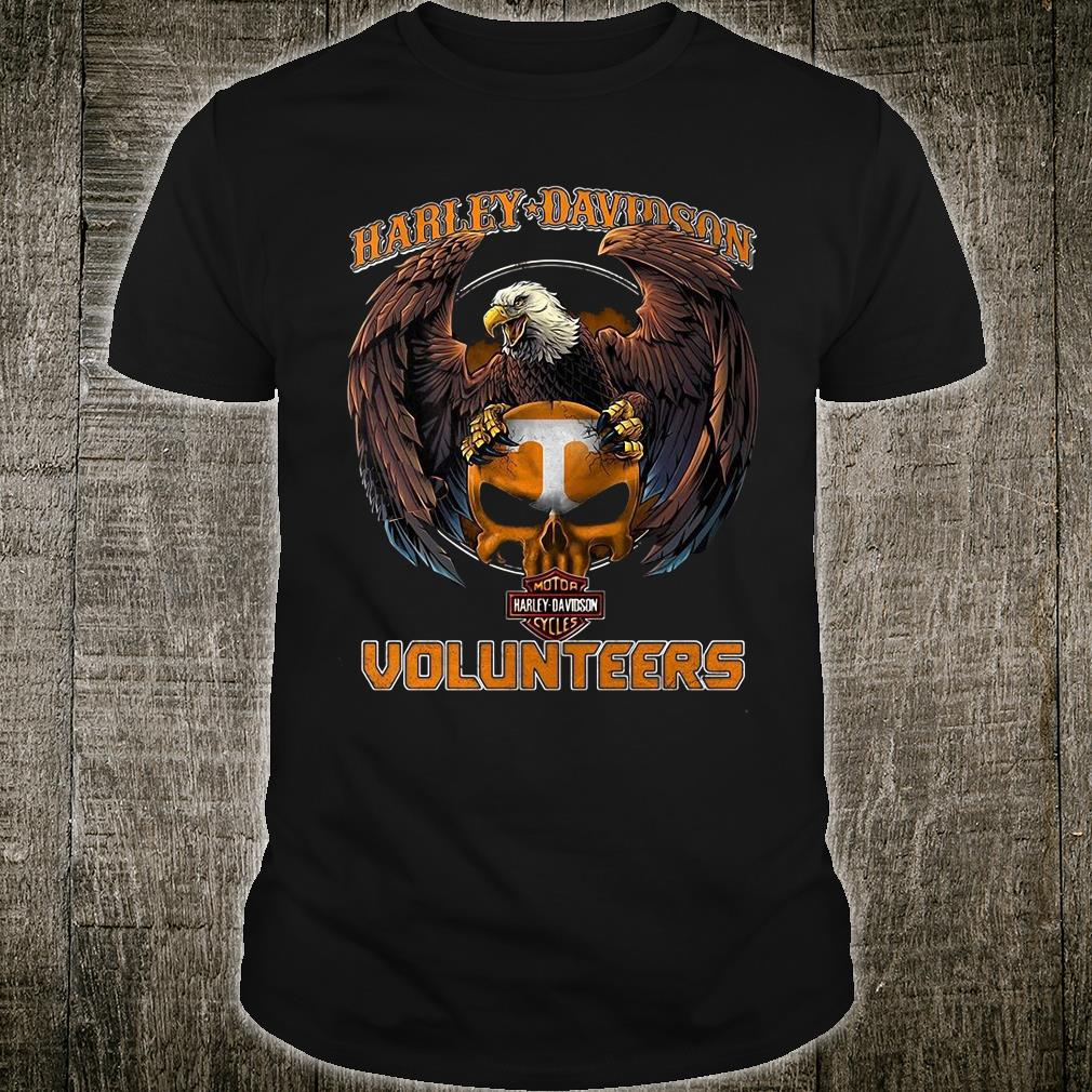 Harley Davidson Volunteers shirt