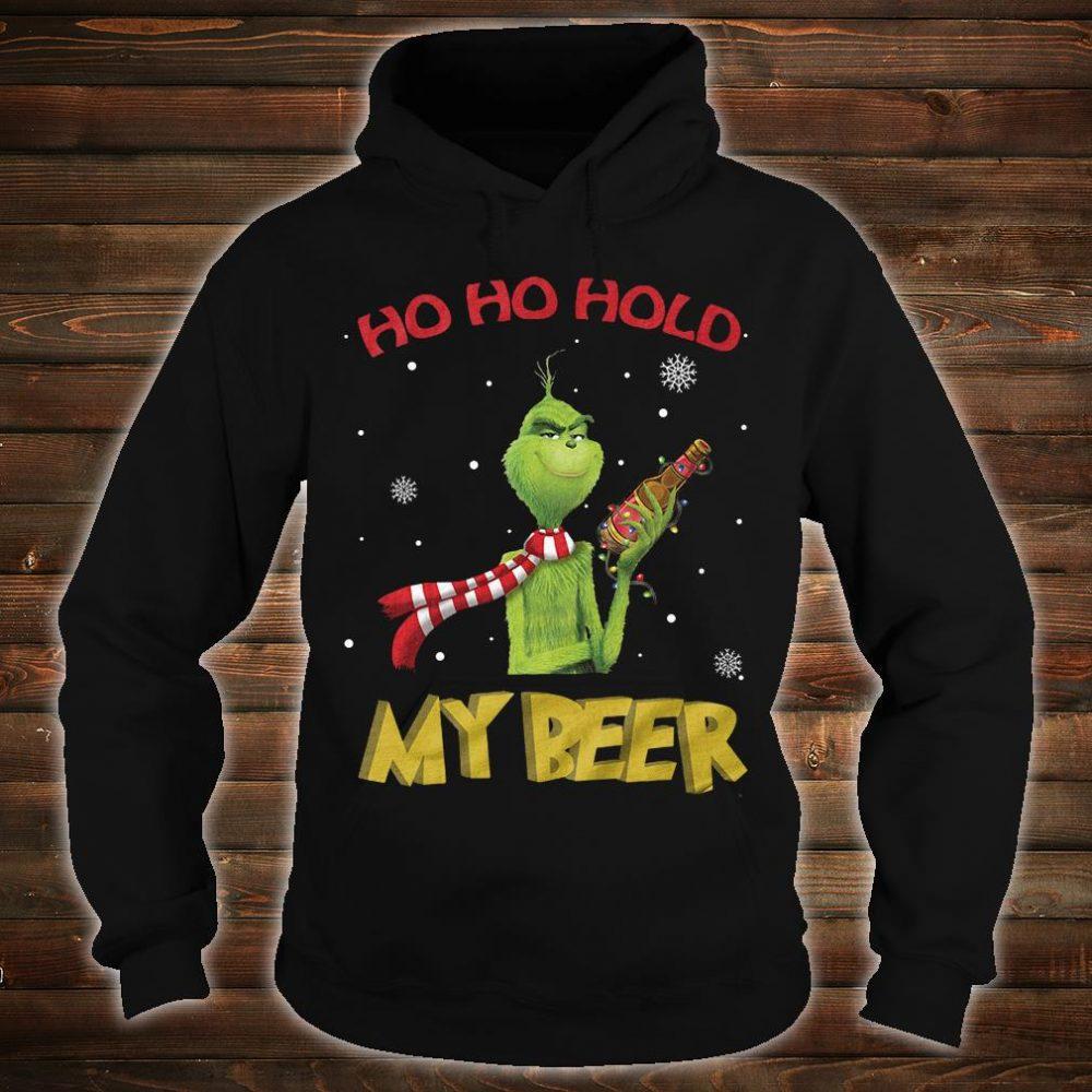 Ho ho ho my beer shirt hoodie