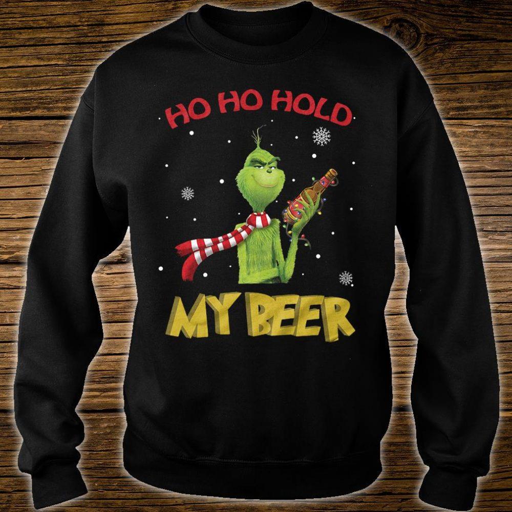 Ho ho ho my beer shirt sweater