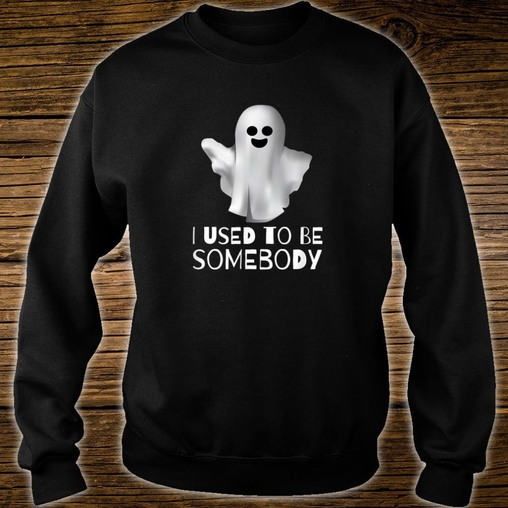 I Used to be Somebody Shirt sweater