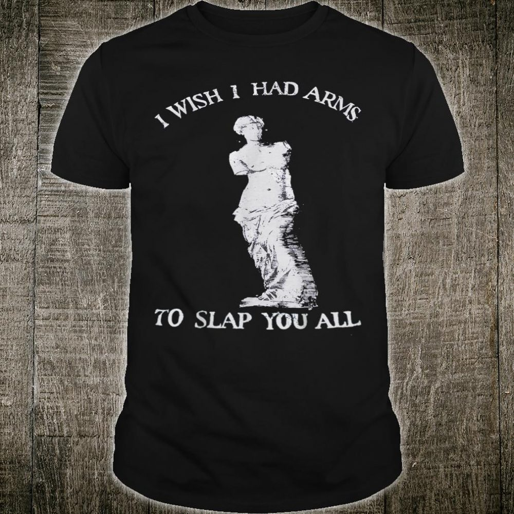 I Wish I Had Arms To Slap You All Equal Rights Shirt